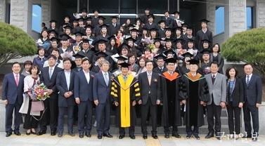 구미대학교, '2019년 일학습병행 계약학과 학위수여식' 개최