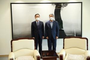 장세용 구미시장, 한국수자원공사 사장 면담 및 구미하이테크밸리 분양 활성화 방안 논의